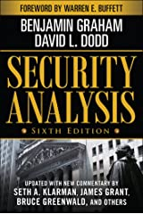 Security Analysis: Sixth Edition, Foreword by Warren Buffett (Security Analysis Prior Editions) Kindle Edition