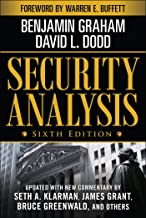 Security Analysis: Sixth Edition, Foreword by Warren Buffett (Security Analysis Prior Editions) (English Edition)