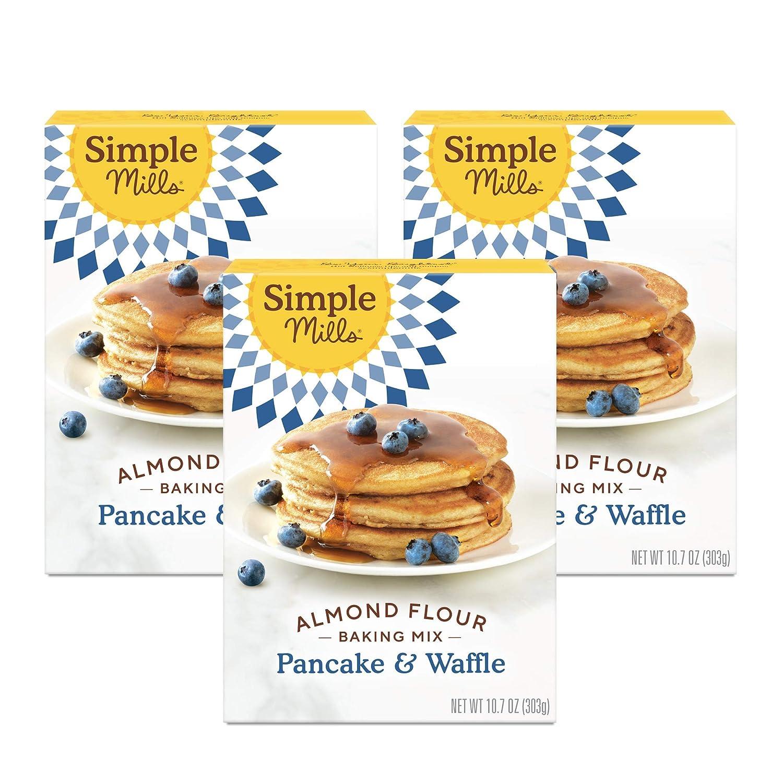 Simple Mills Almond Flour Pancake Gluten Waffle Mix Superior Ultra-Cheap Deals Free