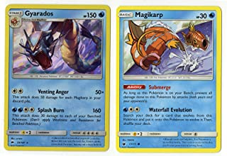 Evolution Set - Gyarados/Magikarp Sun Moon 33/147 Burning Shadows Holo Rare Card LOT