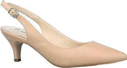 Greatonu Zapatos de Tacón Clásicos Espigones con Hebillas y Tiras en la Parte Trasera para Mujer 36-41 EU