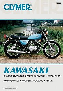 Clymer Repair Manual for Kawasaki KZ400/440 EN450/500 74-95