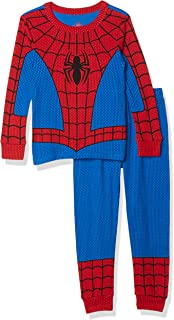 Marvel Spider-Man Costume PJ PALS for Boys- Size 7