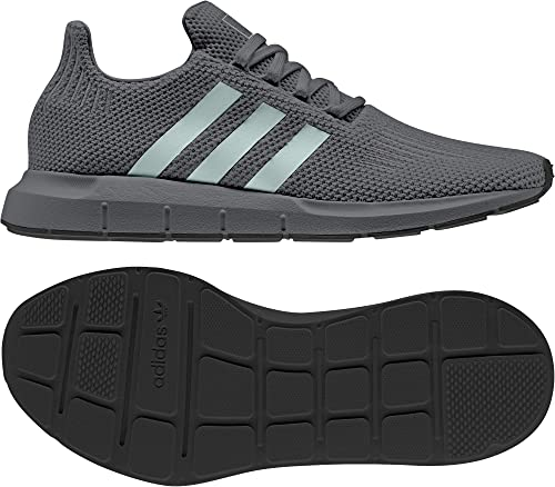 Adidas Originals Swift Run, Night gris-Ash vert-Core noir, 9,5