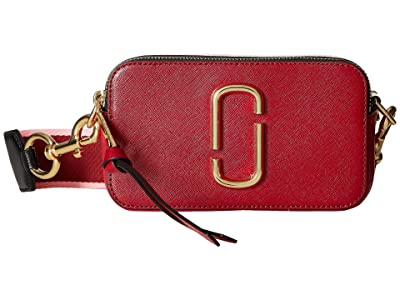 Marc Jacobs Snapshot (Red Multi) Handbags