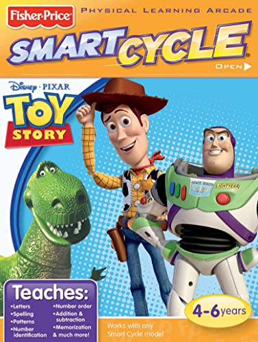 Fisher-Price SMART CYCLE Software - Disney Pixar Toy Story by Fisher-Price