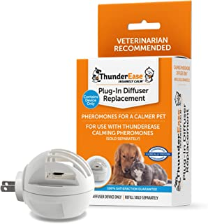 ThunderEase Calming Pheromone Plug-in Diffuser Replacement | Compatible with FELIWAY and ADAPTIL Refills