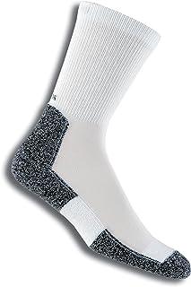 Lite calcetines acolchados para correr para hombre, LRXM, Hombre, color blanco, tamaño Large (10 - 11 UK)