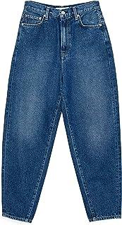 Pepe Jeans Casey DL Vaqueros Corte de Bota, Azul (Denim 000), W43 (Talla del Fabricante: 33) para Mujer
