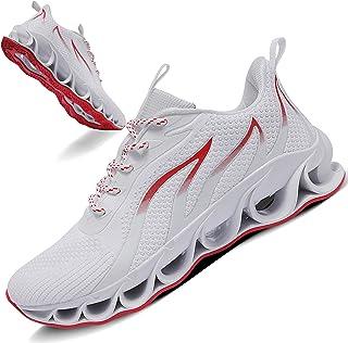 Sponsored Ad - TIAMOU Men Running Walking Shoes Sport Athletic Wihte Jogging Sneakers