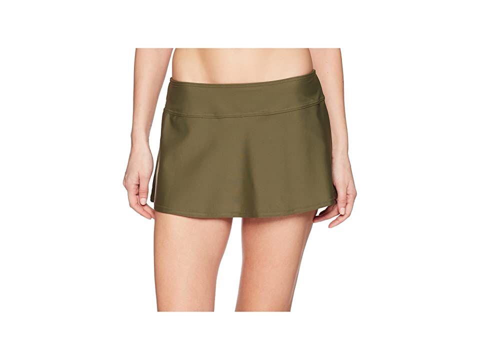 Prana Sakti Swim Skirt (Cargo Green) Women