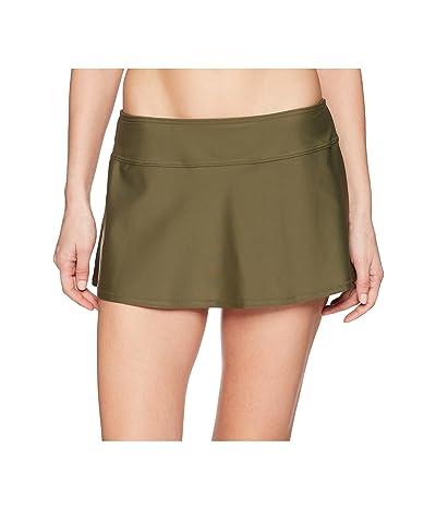 Prana Sakti Swim Skirt (Cargo Green) Women
