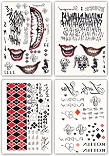 harley quinn diamond tattoos