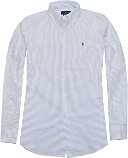 Best ralph lauren blue and white striped shirt womens Reviews