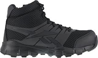 "Reebok Men's 5"" Dauntless Ultra Light Tactical Boots, Black"