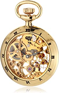Men's 090.6.1402.000 Les Petites Brass Skeletal Dial Pocket Watch
