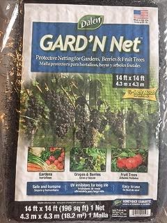 Dalen Garden Net Netting 14 x 14 Ft Mesh Protection Plant Fruit Bug Bird Barrier WLM8 PN5151