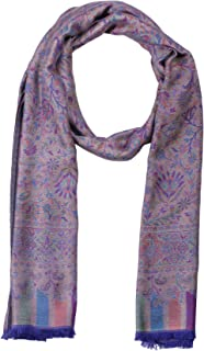 Pashmina Shawls and Wraps - Lenzing Modal Paisley Pattern Scarf for Women