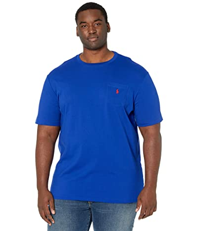 Polo Ralph Lauren Big & Tall Big Tall 26/1 Jersey Short Sleeve Classic Fit T-Shirt (Heritage Royal) Men