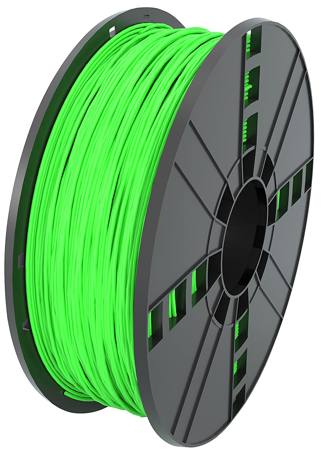 MG Chemicals ABS17GR1 Green ABS 3D Printer Filament, 1.75 mm, 1 kg Spool