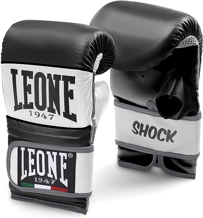 Guantoni boxe da sacco - leone 1947 shock, guanti da sacco unisex adulto GS091