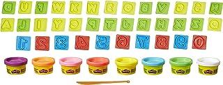 Play-Doh - 21018 - kneedplezier met cijfers en letters