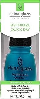 China Glaze Fast Freeze Quick Dry Nail Polish, 0.5 Ounce