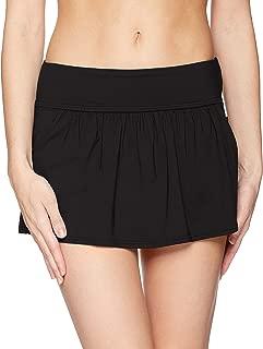 Women's Skirted Bikini Swim Bottom with Pockets