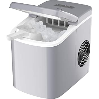 hOmeLabs Chill Pill Countertop Ice Maker - Perfect Ice in 8 to 10 Minutes - 26 Pounds Per Day Production To Keep You Iced Out Of Your Mind This Holiday Season