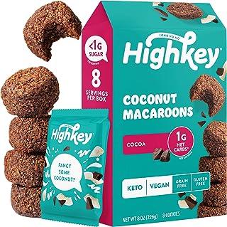Sponsored Ad - HighKey Snacks Keto Food Low Carb Snack Cookies, Coconut Macaroons - Gluten Free & No Sugar Added, Healthy ...