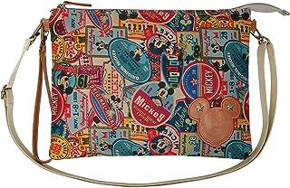 PLIC n PLOC A28.Disney Mickey Mouse Women Flat Wristlet Clutch Shoulder Cross Body Bag Handbag