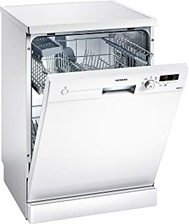 Siemens 5 Programs 12 Place settings Free standing Dishwasher, White - SN215W10BM, 1 Year Warranty