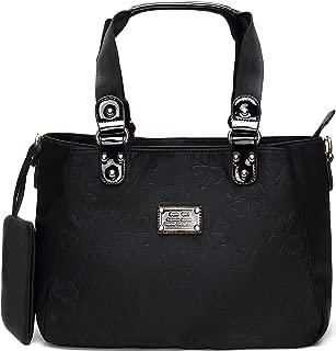 Nylon Tote Purse Lightweight Water Resistant Handbag for Women