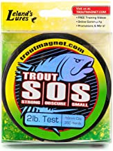 Trout Magnet S.O.S. Fishing Line, 350yd (2lb, 4lb, 6lb Test)