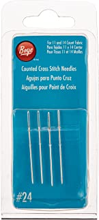 Boye Cross Stitch Hand Needles-Size 24 4/Pkg (3507503000M)