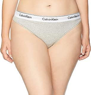 Calvin Klein Women's Modern Cotton Printed Thong