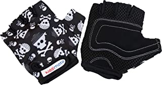 Kiddimoto Kids Fingerless Cycling Gloves for Girls & Boys Bicycle, Balance Bike, Scooter, and Skateboard