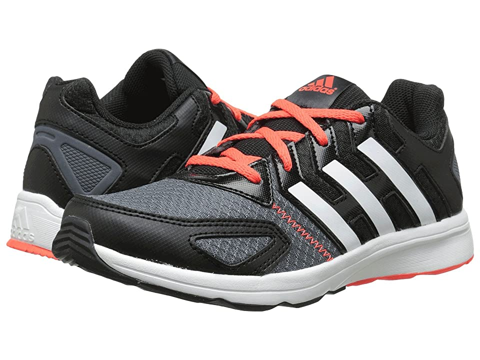adidas Kids Az-Faito K (Little Kid/Big Kid) (Black/White/Solar Red) Boys Shoes