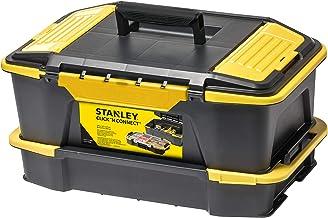 Stanley Stst1-71962 Kit Boîte À Outils Avec Organiseur Empilable Avec Attaches Latérales - Système Click & Connect - Longu...