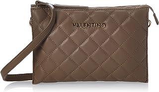 حقيبة بحزام طويل يمر بالجسم من فالنتينو، اسود
