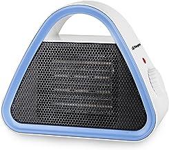 Orbegozo CR 5012 - Calefactor cerámico, 2 niveles de potencia, modo ventilador, termostato regulable, protección contra sobrecalentamiento, 1500 W