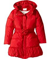 Kate Spade New York Kids - Rosette Puffer Coat (Little Kids/Big Kids)