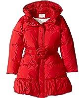 Kate Spade New York Kids - Rosette Puffer Coat (Little Kids/Big Kids)