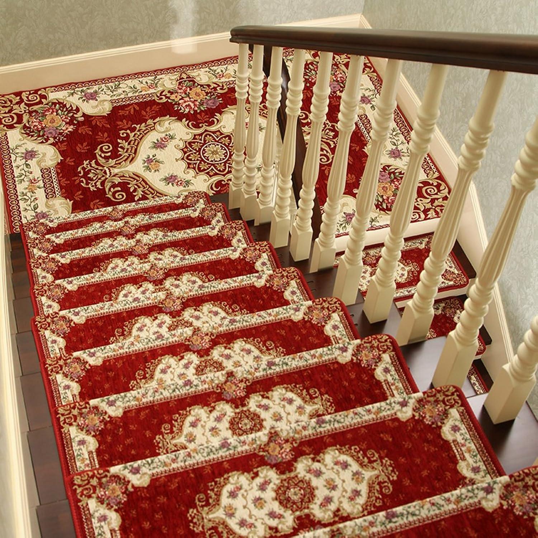European style anti-slip stair tread mat Corner stair mat Step pad-C 24x64cm(9x25inch)