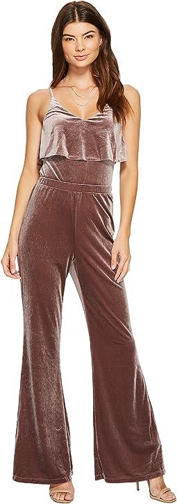 Bert Velvet Jumpsuit