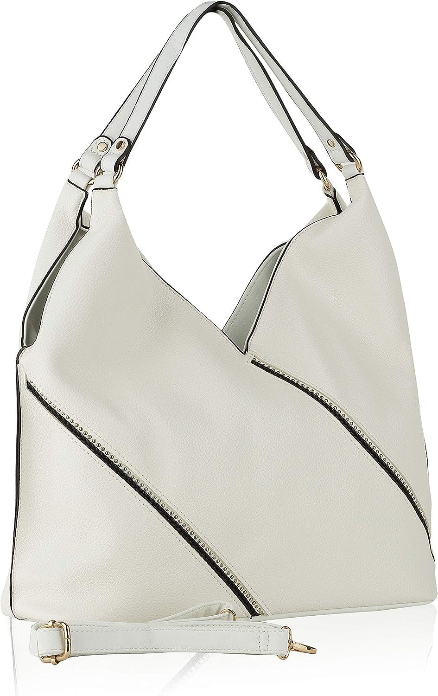Mia K. Collection Francelle Hobo Bag