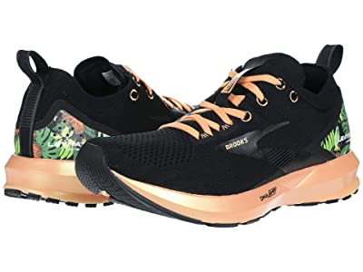 Brooks Levitate 3 (Black/Cantaloupe/Green) Women