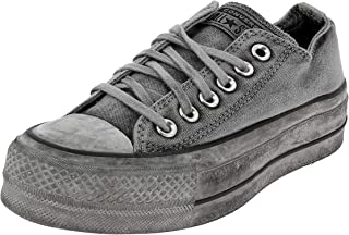 Converse Limited Edition CTAS Ox Chaussures DE Sport pour Femme Gris 563112C