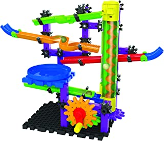 The Learning Journey Techno Gears Marble Mania STEM Construction Set – Zoomerang Marble Run (80+ pieces) – Award Winning Learning Toys & Gifts for Boys & Girls Ages 6 Years and Up
