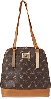 Beverly Hills Polo Club Backpack for Women- Brown
